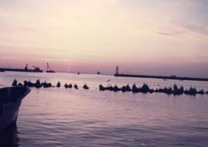 大間崎の夕日