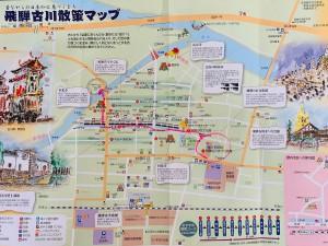 飛騨古川散策マップ