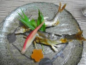 庄川若鮎塩焼