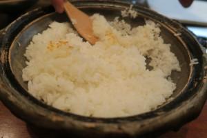 土鍋炊きご飯1