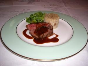 国産牛ミニヨンのグリルステーキ
