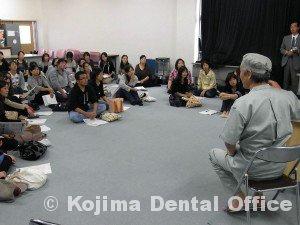 就学時検診時の歯科指導3