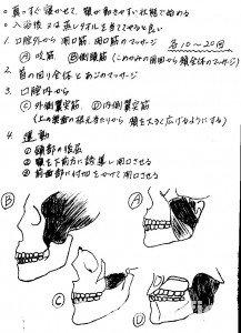 マッサージ法③