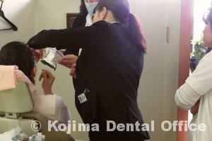 口腔内規格写真の撮り方1