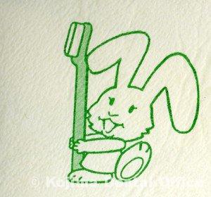 ウサギのマーク